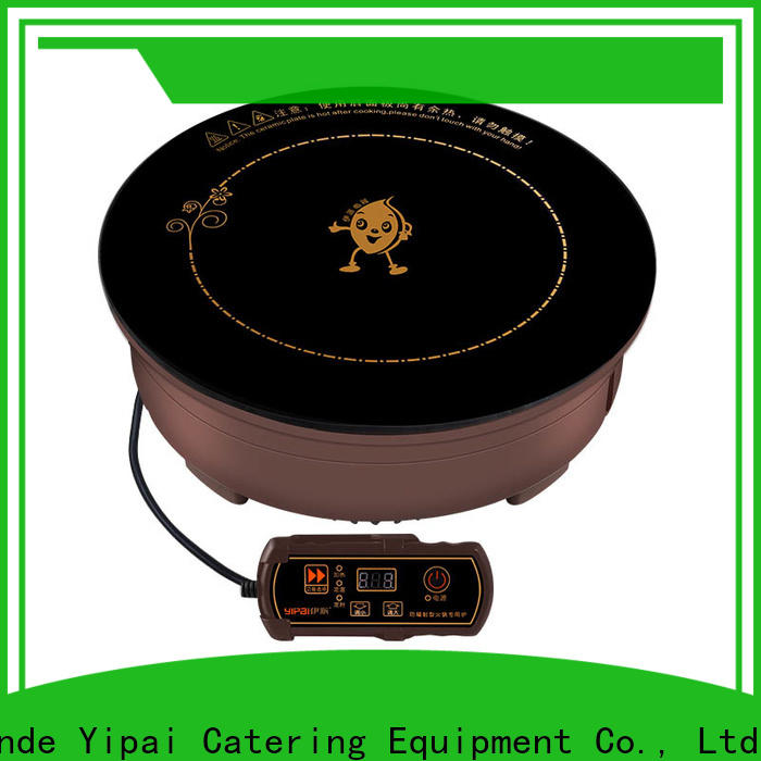 durable drop-in induction cooker manufacturer for restaurant
