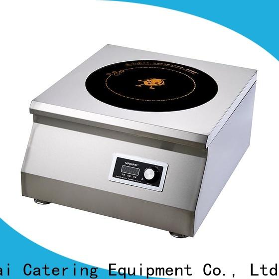 5000w commercial induction cooktop series for household