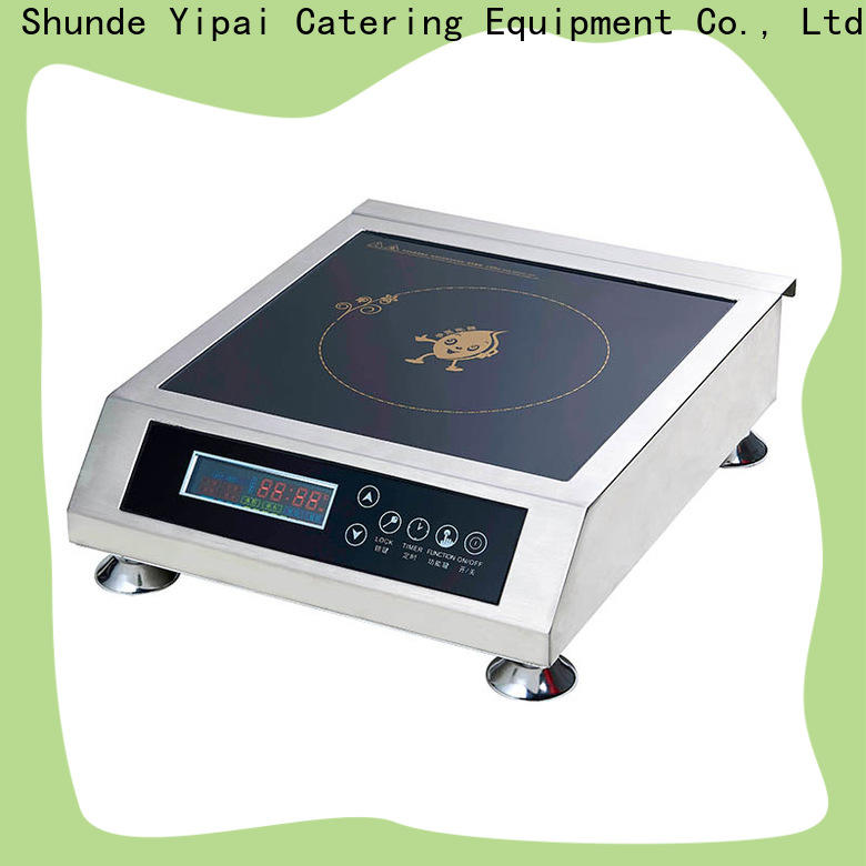 durable commercial induction cooktop supplier for kitchen
