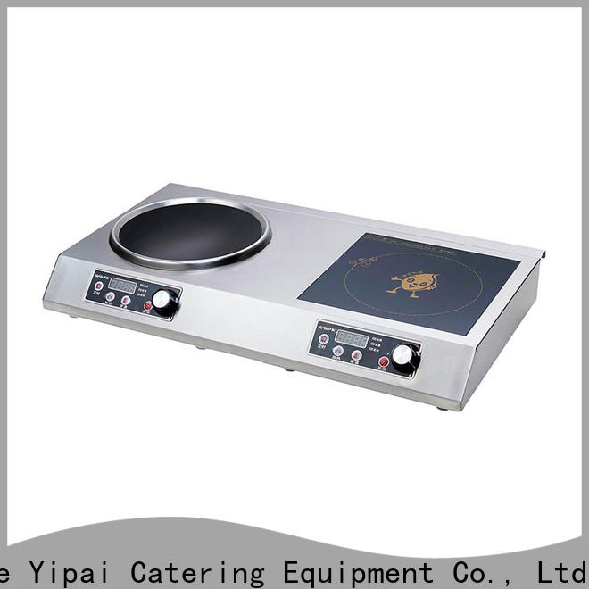 electric single induction cooktop customized for restaurant