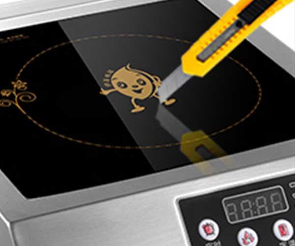Earlston 220v small induction cooktop customized for kitchen