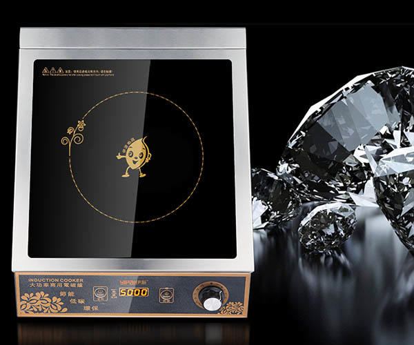 3500w induction cooking plate customized for restaurant