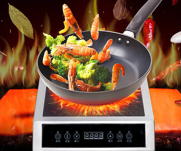 industrial precision induction cooktop series for restaurant