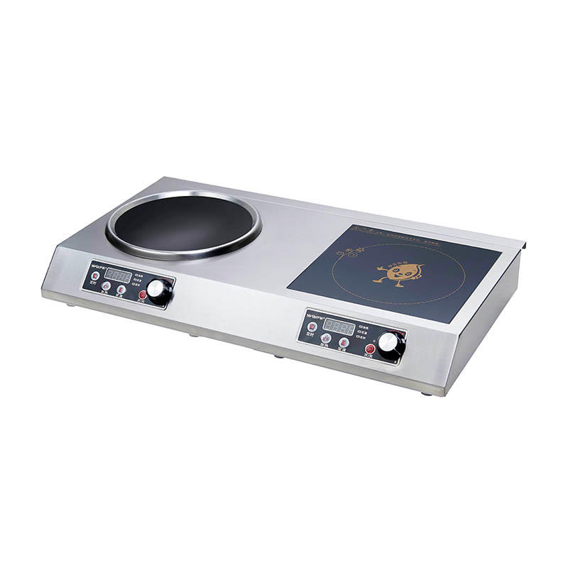 Double Burners Induction Cooker Restaurant 220V YP-D05 3500W+3500W