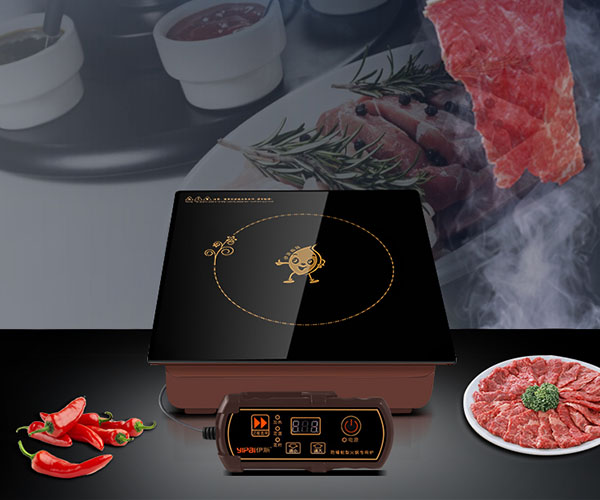 industrial drop-in induction cooker customized for household-2
