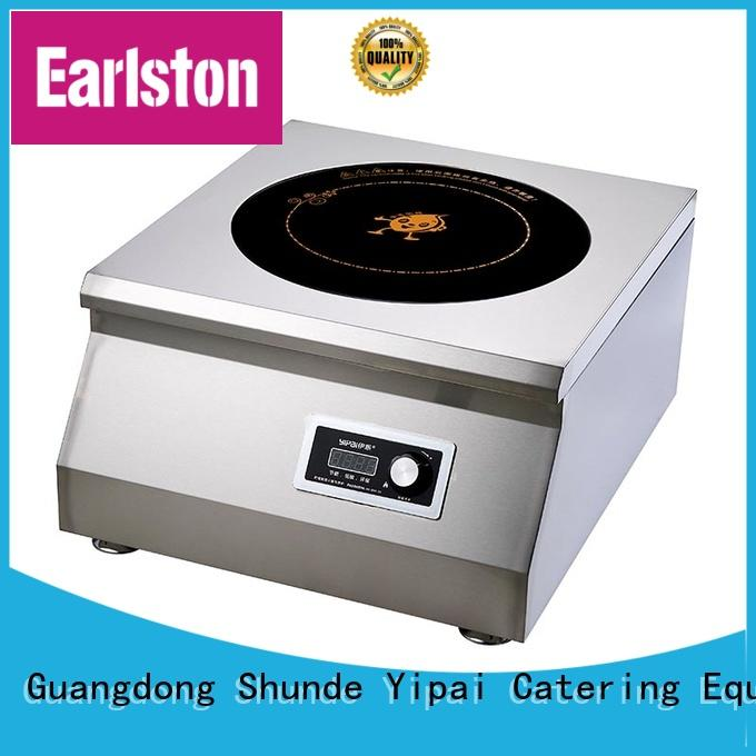 Earlston 5000w countertop induction cooktop from China for restaurant