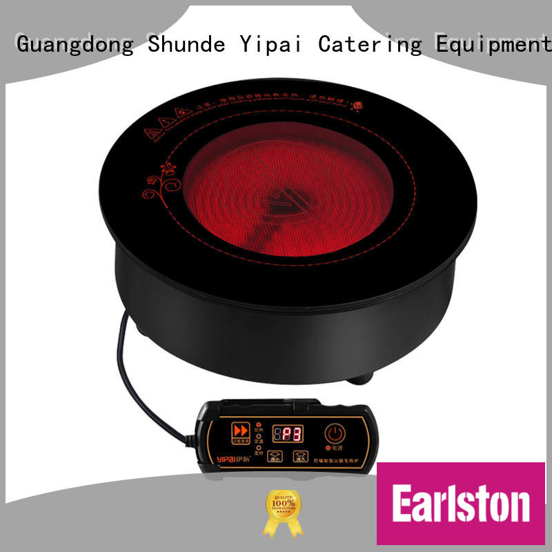 220v infrared stove top design for restaurant