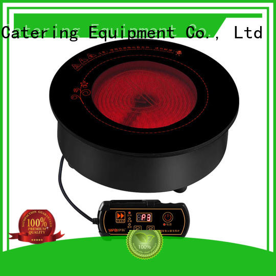 convenient infrared stove top design for restaurant
