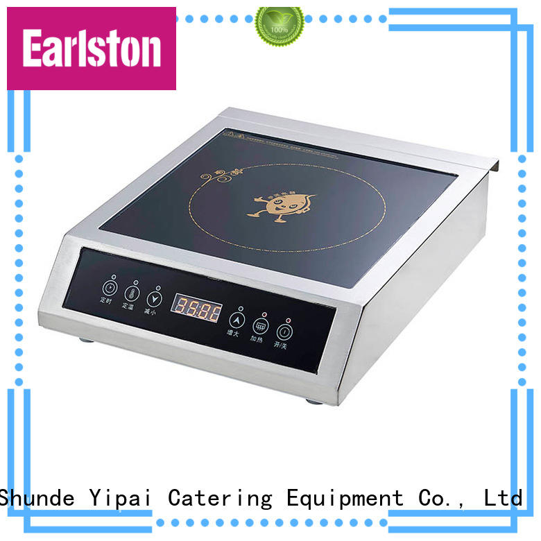 Earlston cooktop conduction cooking plate design for restaurant