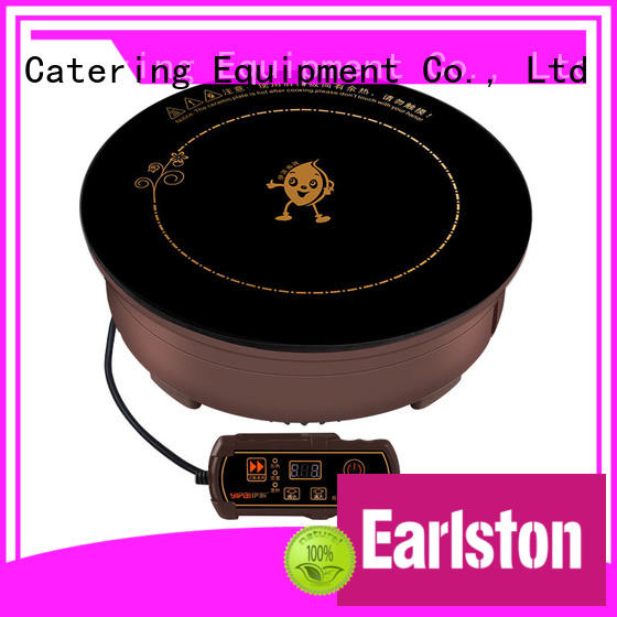 Earlston commercial single induction cooktop manufacturer for kitchen