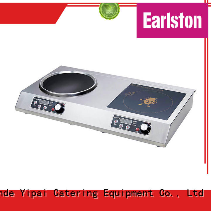 Earlston power induction burner manufacturer for restaurant