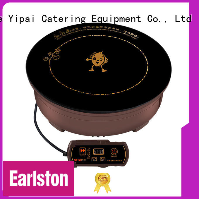 Earlston stoves induction cooker manufacturer for restaurant