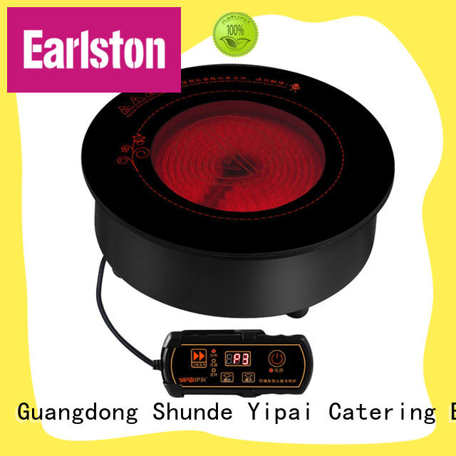 Earlston best selling electric ceramic cooker cooktop for restaurant