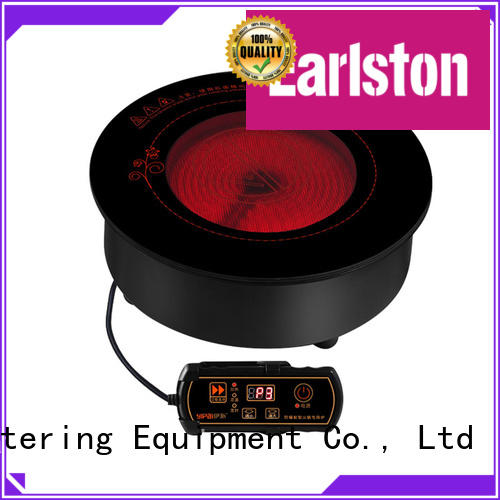 Earlston 2000w electric ceramic cooker design for hotel