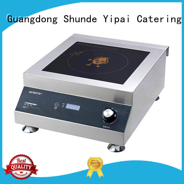 Earlston heavy duty commercial induction cooktop customized for restaurant